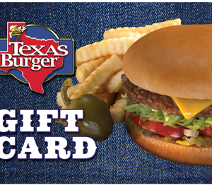 Texas Burger Gift Card